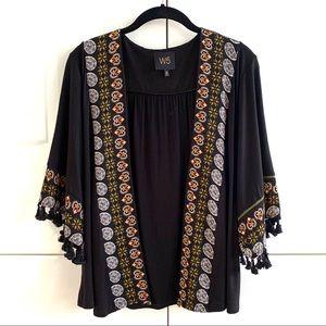 Anthropologie x W5 Tasseled Kimono Jacket